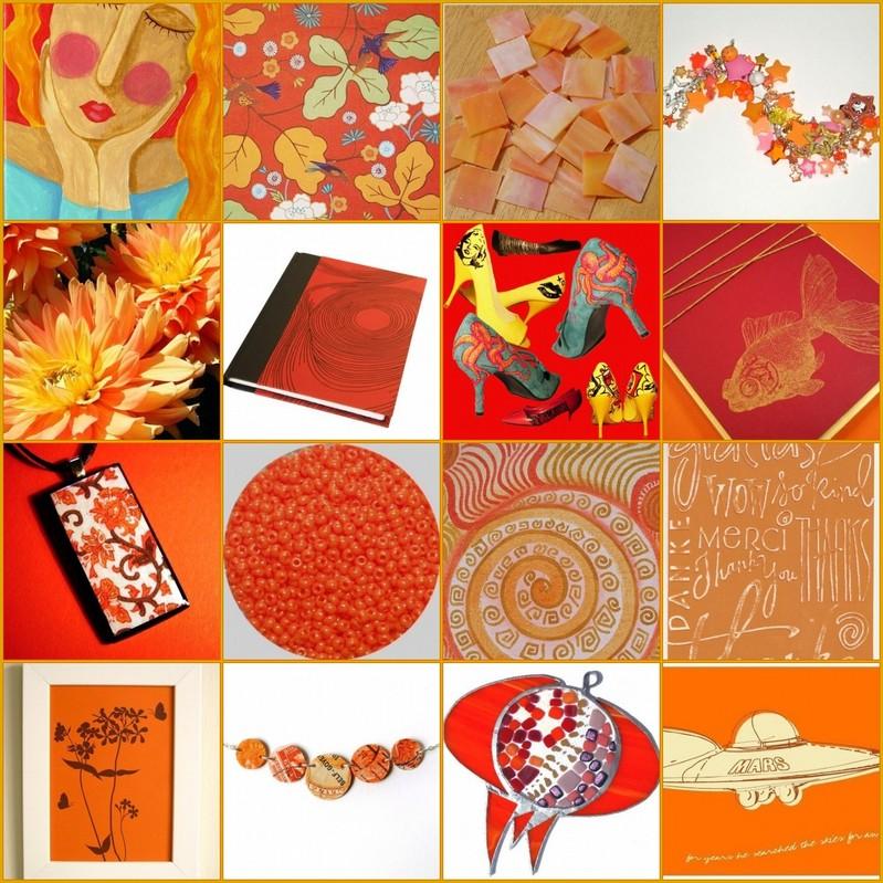 Orangeflickrsetmosaic